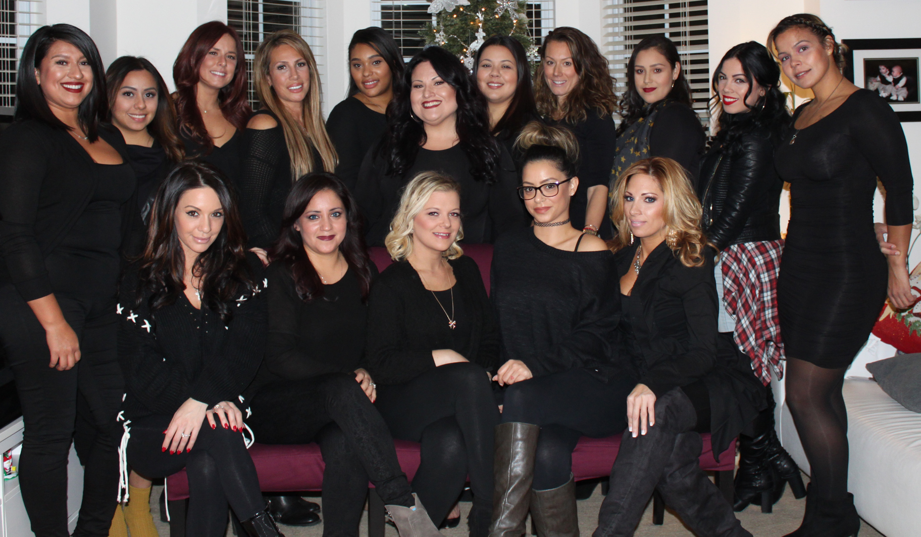 Victoria De Los Rios And Her Team Of Award Winning Makeup Hair Artists